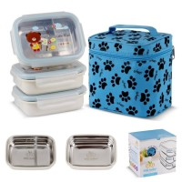 GiG Baby Rectangular Lunch Box - Set Tempat Makan Anak