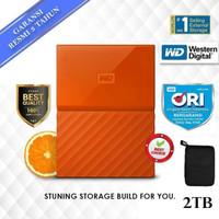 harddisk WD Passport New 2TB / HDD External WD original