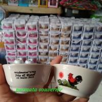 Souvenir mangkok ayam jago/souvenir Jakarta/mangkok ayam jago