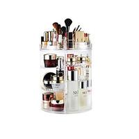 Rak Kosmetik Akrilik Putar / Cosmetic Organizer Display Acrylic