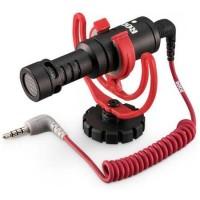 Genuine Rode Videomicro microphone camera asli original free splitter