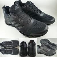 Sepatu Lari Adidas Running Terrex Springblade Full Black Hitam
