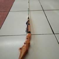 Joran wader Super Lentur, jeujeur beunteur, custom 1,7 m Custom