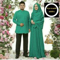 Baju Busana Muslim Gamis Couple Pria Wanita Baru Alita
