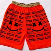 Jual Celana Pendek Kolor Santai Boxer Kaos Pria Cowok Jumbo Bigsize