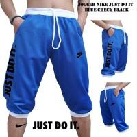 Jual Jogger Nike Just Do It Blue Check Black Murah