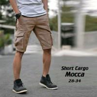 Jual Celana Cargo Pendek Coklat Murah