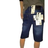Jual Celana Jeans Pendek Pria Strech Bahan Denim Bukan Chinos Murah