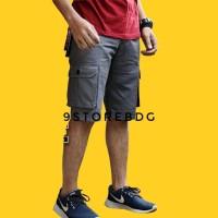 Jual Celana Pendek Pdl Cargo Kargo Pria 5 Warna Premium Murah