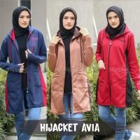 Hijacket Avia - Jaket Hijab Wanita Muslimah Modis Style