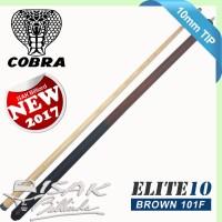 Cobra Elite 101F Cue - 10 mm Snooker Bola Kecil Billiard Stick Biliar