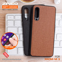 Soft Canvas Case Xiaomi Mi 9 Mi9 Softcase Hard Silikon Casing Cover