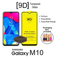 Samsung Galaxy M10 Tempered Glass 5D 9D 10D Full Cover Full Glue