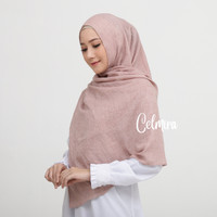 Hijab Voal Pashmina / Zayana Shawl Rose Brown