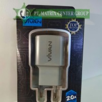 Vivan Charger Power Oval 2.0 A (Fast Charging)