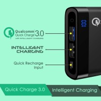 UNEED Powerbank 12000mAh Qualcomm Quick Charge 3.0 QuickBox 12