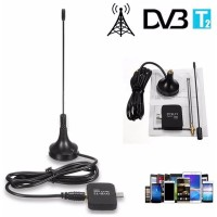 Original TV Tuner DVB-T2 Dongle for Android Smartphone Hitam