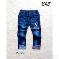 Best Seller Celana Jeans Panjang Anak Import 847 Usia 1-5 Fashion