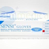 Produk Unggulan Sensi Nitrile Sarung Tangan Non Powder Nitril Gloves
