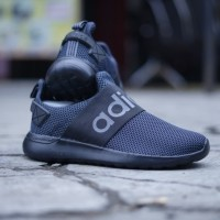 Original BNWB Sepatu Running Adidas Lite Racer BYD Slip On Full Black