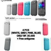 4 pcs CAPDASE soft Jacket for Blackberry Bellagio 9790