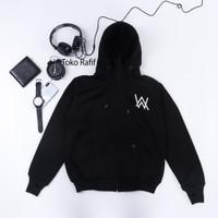 sweater jaket hodie ninja alan walker anak hitam