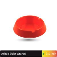 """Asbak Bulat 3.5"""" inchOrange MELAMINE GLORI 3002"""