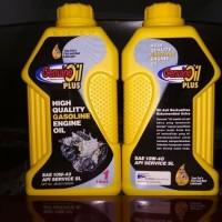 Oli mesin 10w40SL untuk kendaraan berbahan bakar bensin, recomend oleh