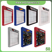 Rak Hotwheels Header Edition Isi 50 Potrait
