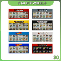 Rak Rack Hotwheels 1:64 Isi 30 Header Slim Fit Edition