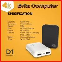 Hippo ILO D1 10000mAh Power Bank Mini Dual USB Output