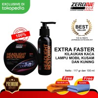 Zerone Headlight Restorer ( Pengkilap Lampu Mobil )
