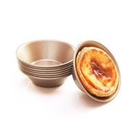 non stick tart pan Chefmade Egg Tart Cetakan bulat pie anti lengket