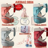Gendongan Bayi Baby Carrier 4 season 11in1 Hipseat Carrier Aiebao 6604