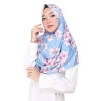 sakura pasmina motif bunga fashion muslim