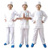Baju Koko Anak Putih Fayrany FKP-011 Size 1 - 5 Tahun