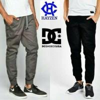 Jual Celana Panjang Jogger Pants Polos Joggerpants Dc Surfing Murah