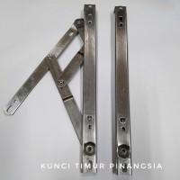 Engsel casement 16 inch/engsel jendela jungkit 204