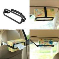 Tissue Paper Box Car Holder Penjepit Tissue Mobil Tempat Tisu Kaitan