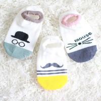 Kids Baby Unisex Girl Boy Cotton Cartoon Animal Anti Slip Socks
