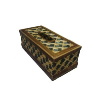 Kotak Tisu Bambu Unik new