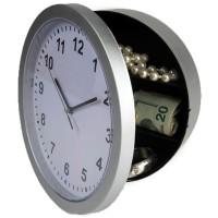 Security Gadget Creative Wall Clock Hidden Secret Safe Box for Cash
