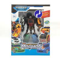 Mainan Anak Tobot Magma 6 Robot Mobil Transformers 6 in 1 535