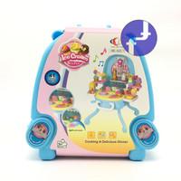 Mainan Anak Perempuan Ice Cream Shop Koper Ice Cream Playset 6662-1