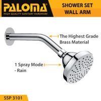 PALOMA SSP 3101 Shower Set Wall Tanam Mandi Head Kepala Tembok Paket