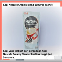 Kopi Nescafe Creamy Blend 110 gr (5 sachet)