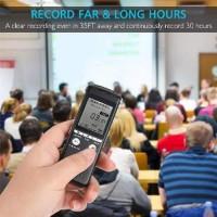 Perekam Suara HD Microphone Digital Voice Recorder 8GB YYN131 Ter
