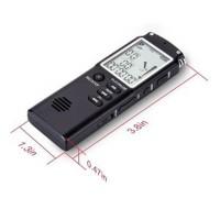 Perekam Suara Digital Voice Recorder 16GB YYT60 Terbaru Hitam SKG