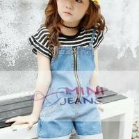 Best Seller Setelan Baju Anak Fashion Import Mini Jeans Mj