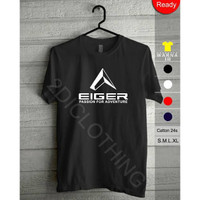 Kaos T-Shirt EIGER (passion for adventure) Cotton Combed 30s